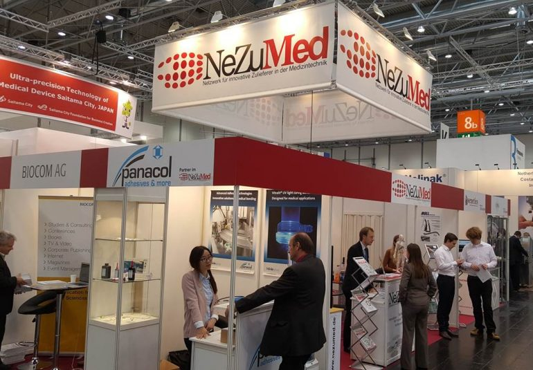 Compamed Messestand Foto 2