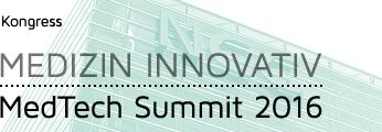 Medizin Innovativ – MedTech Summit 2016