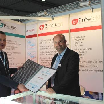 Medtec Europe in Stuttgart 2016