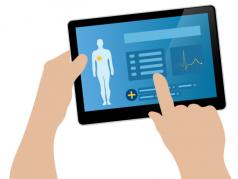 Benutzeroberfläche einer Medical App