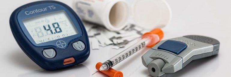 Ergebnis erfolgreicher Entwicklung eines IVDs: ein Blutzuckermäßgerät