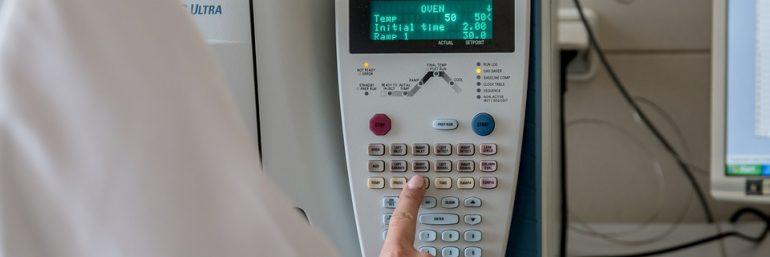 Ergebnis erfolgreicher Entwicklung: Laborgerät für Probenlagerung im Einsatz