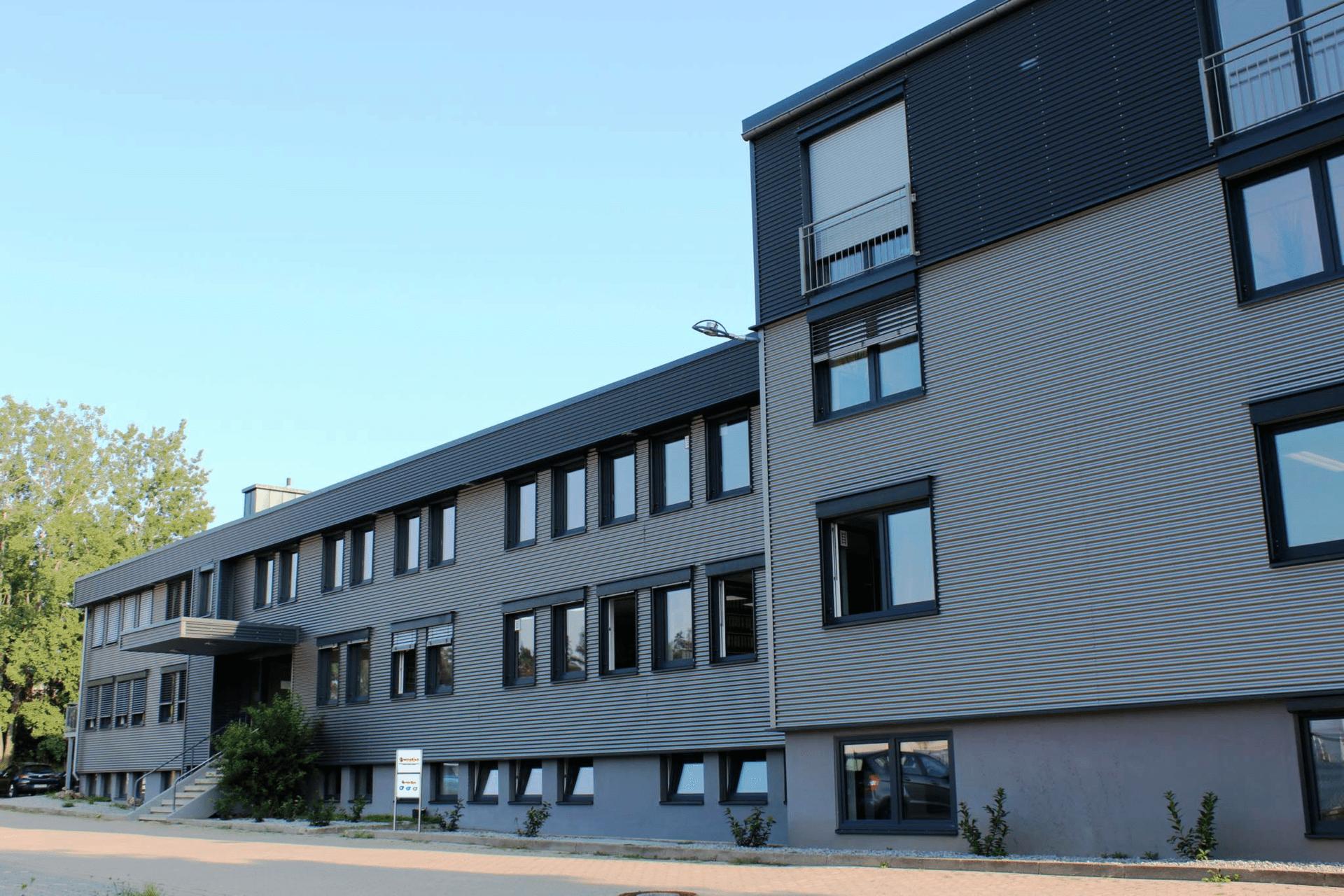 neues Gebäude für senetics in Brodswinden