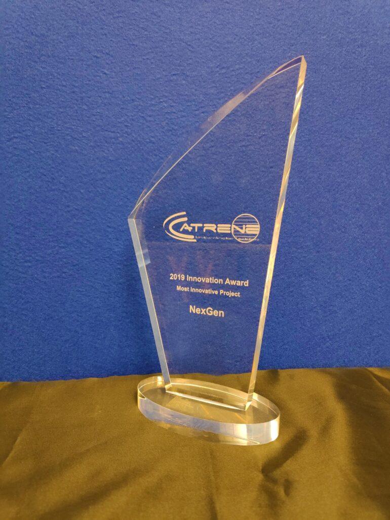 CATRENE Innovation Award Pokal