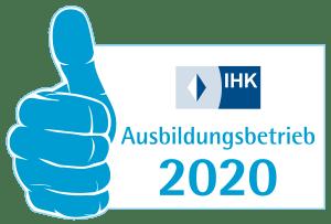 Auszeichnung Ausbildungsbetrieb 2020